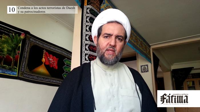 Condena a los actos terroristas de Daesh y su patrocinadores