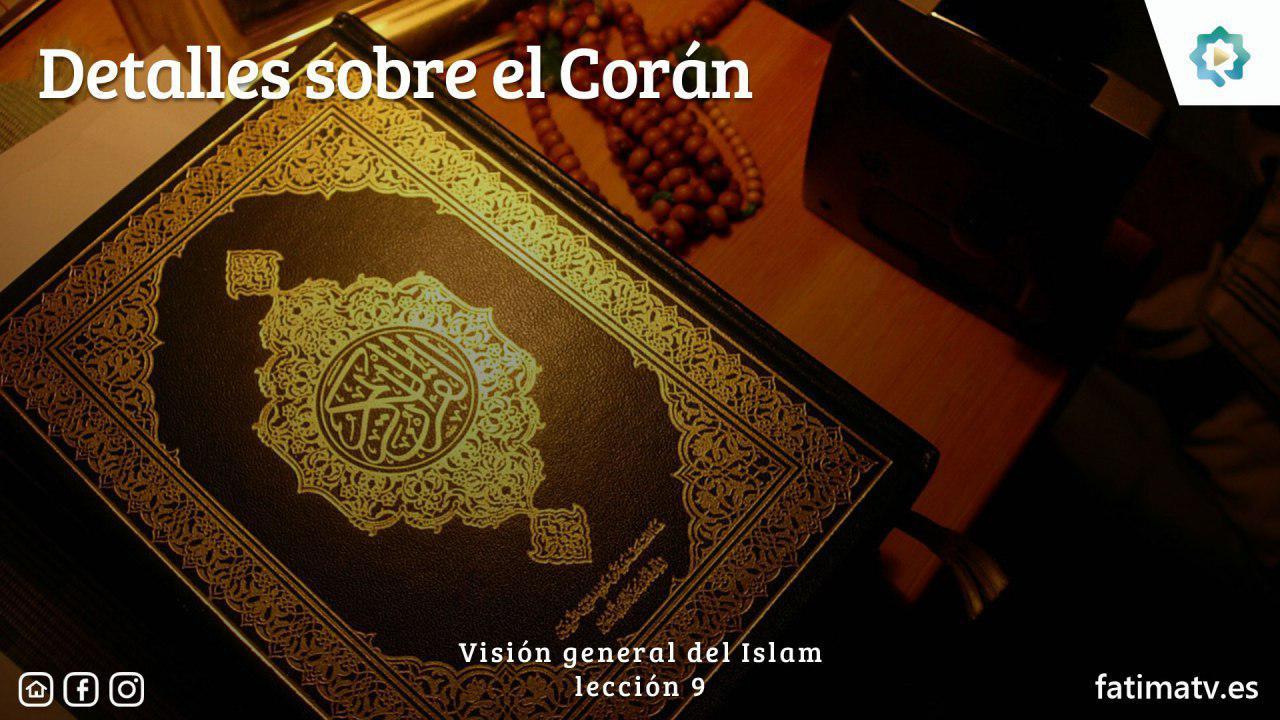 Detalles sobre el Corán