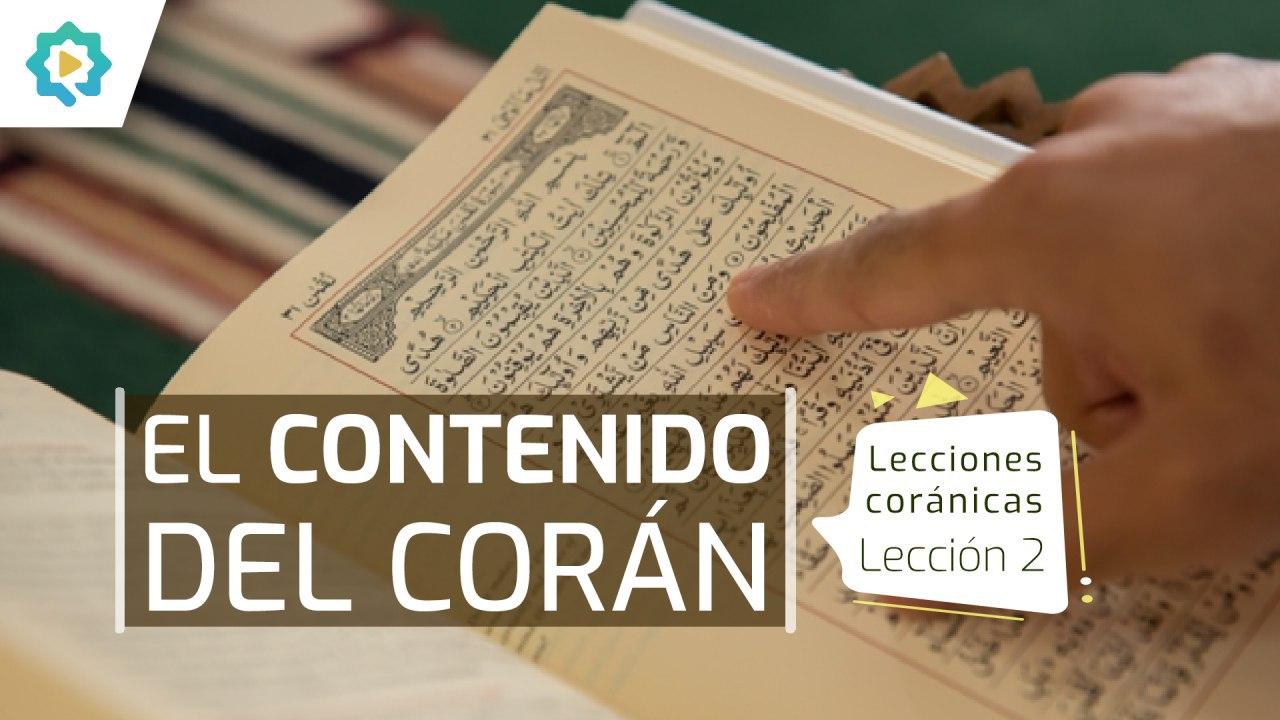 El contenido del Corán