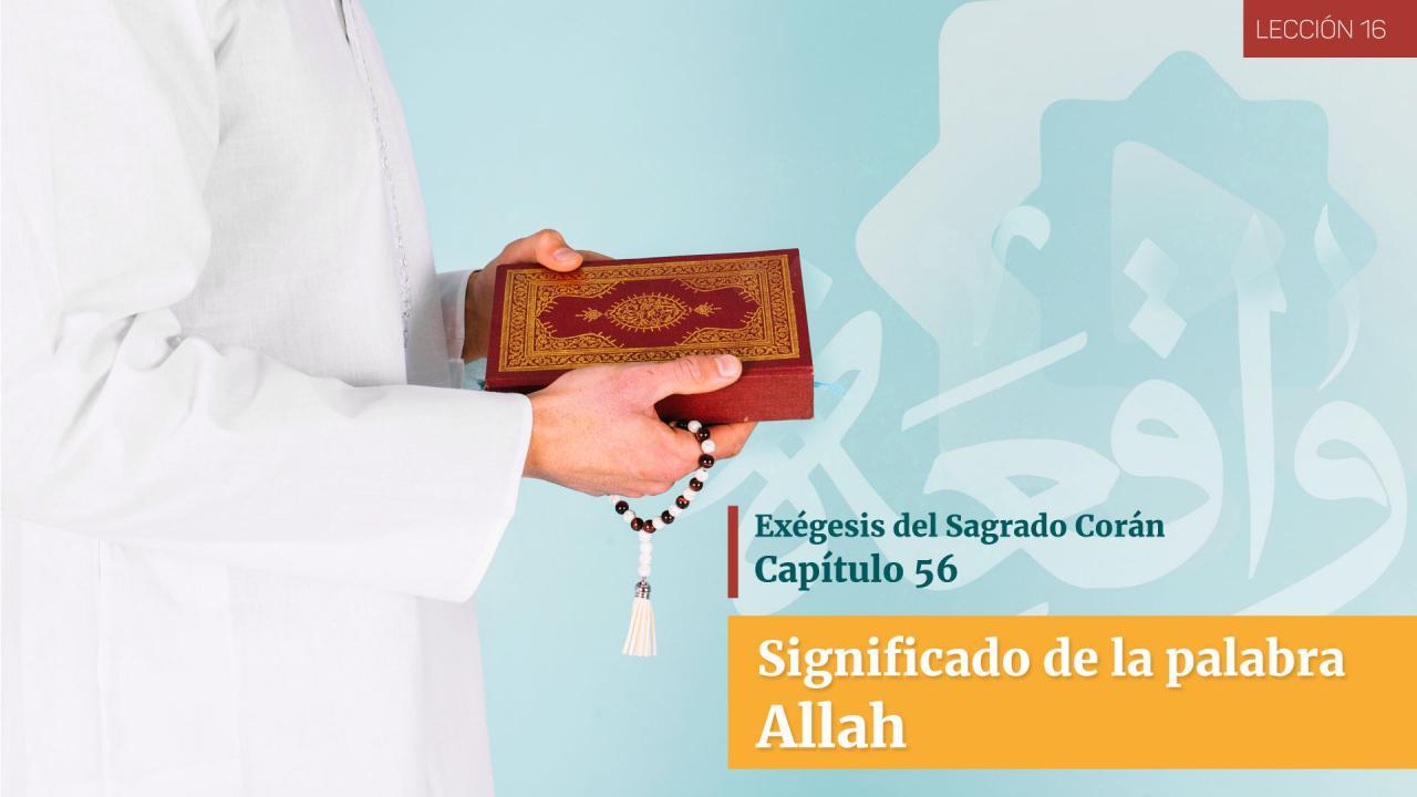 Significado de la palabra Allah